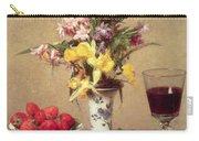 Engagement Bouquet Carry-all Pouch by Ignace Henri Jean Fantin-Latour