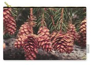 Engelmann Spruce Cones Carry-all Pouch