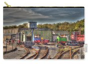 Engine Sheds Quainton Road Buckinghamshire Railway Carry-all Pouch