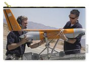 Engineers Mount A Scaneagle Unmanned Carry-all Pouch