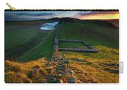 England, Northumberland, Hadrians Wall Carry-all Pouch