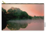 England Pond At Sunrise Carry-all Pouch
