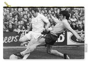 England: Soccer Match, 1972 Carry-all Pouch by Granger