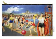 England Southport Restored Vintage Travel Poster Carry-all Pouch