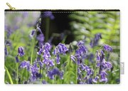 English Bluebell Wood Carry-all Pouch