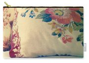English Chintz With Green Tone Carry-all Pouch
