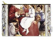 English Christmas Card Carry-all Pouch by Granger