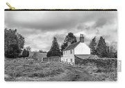 English Cottage In Winter Carry-all Pouch