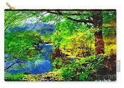 English Country Lake 1d Carry-all Pouch