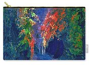 English Country Lane At Night 1d Carry-all Pouch