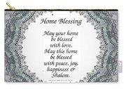 English Home Blessing Carry-all Pouch