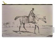 English Jockey Carry-all Pouch