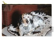 English Setter Lay Carry-all Pouch