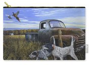 English Setters With Old Truck Carry-all Pouch
