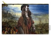 English Springer Spaniel Art Canvas Print  - The Port Carry-all Pouch