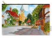 English Village Street Carry-all Pouch