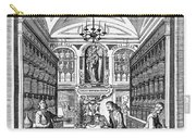 Engraving Of Pharmacy, Geiger, 1651 Carry-all Pouch