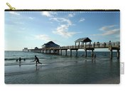 Enjoy The Beach - Clearwater Pier Carry-all Pouch