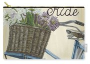Enjoy The Ride Vintage Carry-all Pouch