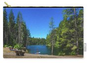 Enjoying Donner Lake Digital Painting Carry-all Pouch