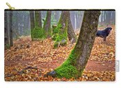 Enjoying The Forest Of Oak Run Carry-all Pouch