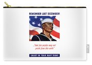 Enlist In Your Navy Today - Ww2 Carry-all Pouch