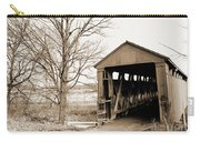 Enochsburg Indiana Covered Bridge Carry-all Pouch