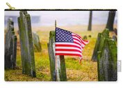Enriched American Flag - Remember Carry-all Pouch