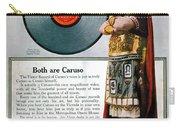 Enrico Caruso (1873-1921) Carry-all Pouch