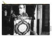 Enrico Caruso, Last Known Photo, 1921 Carry-all Pouch
