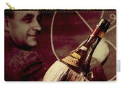 Enrico Fermi And Cp-1 Chianti Bottle Carry-all Pouch