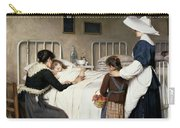 Enrique Paternina Garcia Cid - Mother Visit To The Hospital 1892 Carry-all Pouch