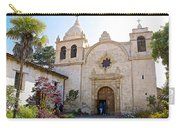 Entering The Church Sanctuary At Carmel Mission-california  Carry-all Pouch