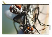 Entomologists Discover Why People Want To Be A Fly On The Wall Carry-all Pouch