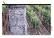 Entrance Of A Vineyard, Chateau La Carry-all Pouch