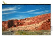 Entrance To Arches National Park Carry-all Pouch