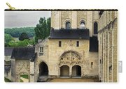 Entrance To Fontevraud Abbey Carry-all Pouch