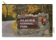Entrance To Glacier Carry-all Pouch