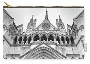 Entrance To Royal Courts Of Justice London Carry-all Pouch