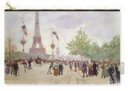Entrance To The Exposition Universelle Carry-all Pouch