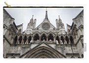 Entrance To The Royal Courts London Carry-all Pouch