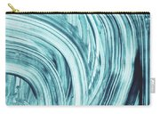 Entranced 1- Abstract Art By Linda Woods Carry-all Pouch