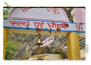 Entry Gate To Vyasa's Cave - Badrinath India Carry-all Pouch