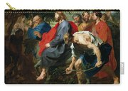 Entry Of Christ Into Jerusalem Carry-all Pouch