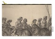 Entry Of Marie De Medici Into Amsterdam [plate 5 Of 6] Carry-all Pouch