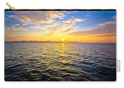 Epic Colorful Sunset On Sea Carry-all Pouch