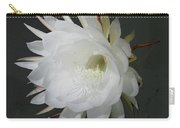 Epiphyte Blossom - Epiphyllum Oxypetalum Carry-all Pouch