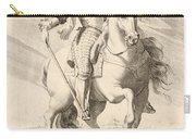 Equestrian Portrait Of Louis Xiii Of France Carry-all Pouch