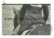 Equitation Quote Carry-all Pouch