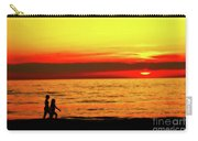 Erie Beach Sunset Carry-all Pouch